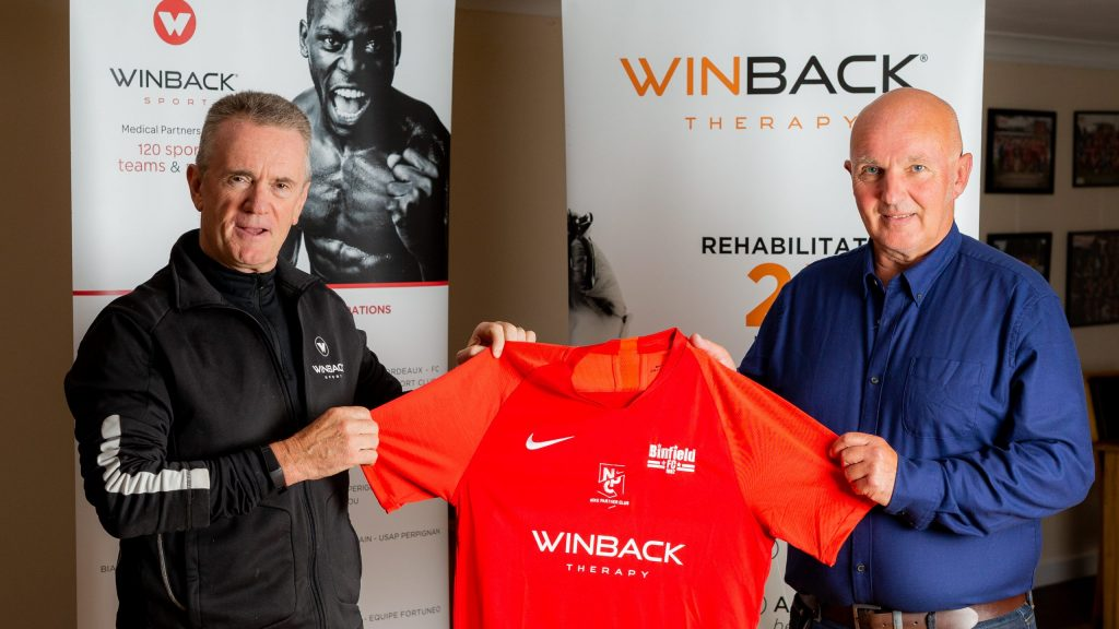 Binfield FC secure new sponsorship deal with WINBACK UK