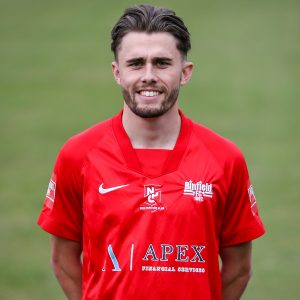 Liam Tack. Binfield FC 2021-22. Photo: Neil Graham / ngsportsphotography.com