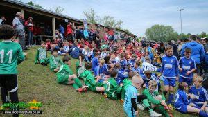 Binfield FC Junior Tournament. Photo: Rob Mack / Shooting Stars.