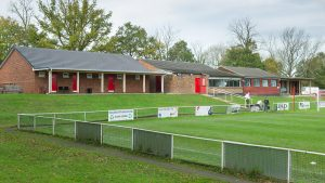 The club house and changing rooms at Hill Farm Lane. Photo: C2 Photography.