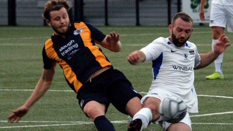 Binfield vs Slough Town. Photo: Andrew Batt.